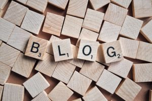 Using a blog to maintain a website