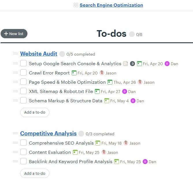 Digital Marketing Goals - Search Engine Optimization