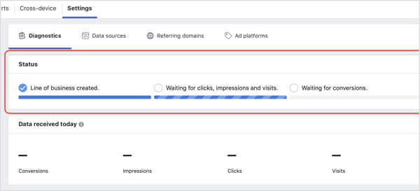 Check the status of the Facebook Attribution tool.