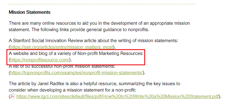 nonprofit marketing resources - oxford university press
