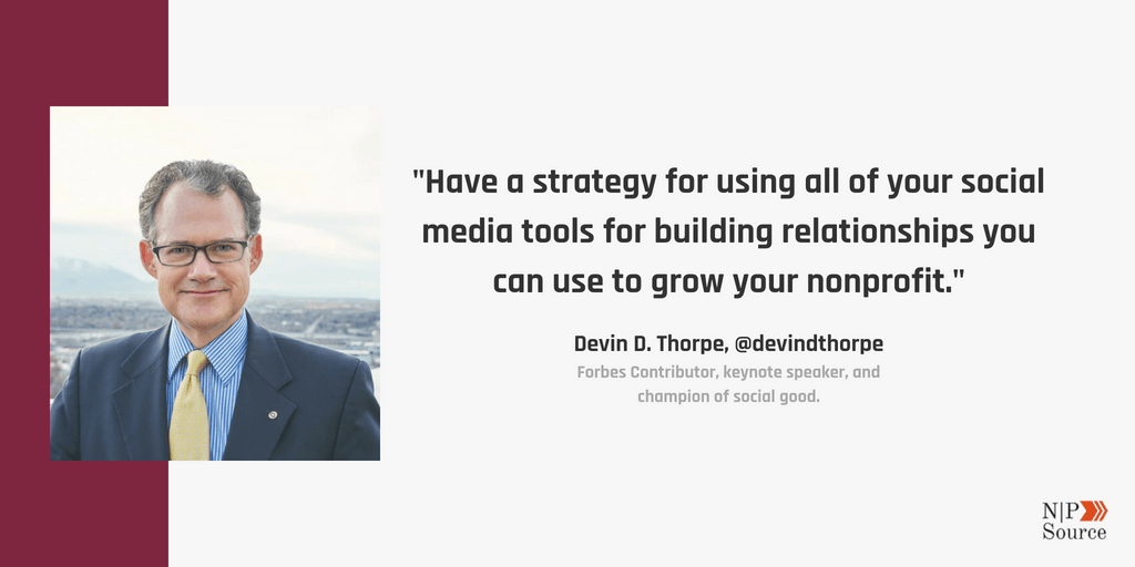 Devin D. Thorpe - Social Media Marketing For Nonprofits