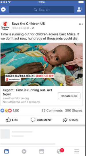 Save the Children US - Social Media Marketing For Nonprofits