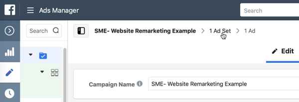 Use Facebook ads to advertise to people who visit your website, Step 7.