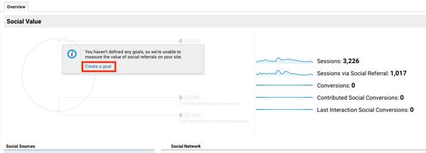 Set up Google Analytic Goals for Instagram Stories, Step 2.