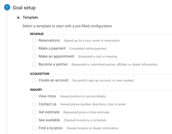 Set up Google Analytic Goals for Instagram Stories, Step 5.
