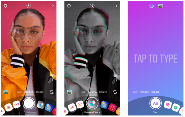 Instagram introduces Create Mode.