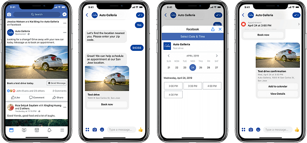 Messenger is providing a new set of plug-and-play businesses solutions aimed at making it easier for businesses to drive in-store traffic, generate leads, and provide customer care.