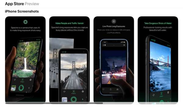 Use Spectre to create stunning long-exposure images with your iPhone.