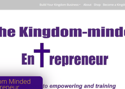 The Kingdom-minded Entrepreneur