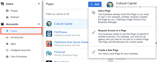 Use Facebook Business Manager, Step 10.