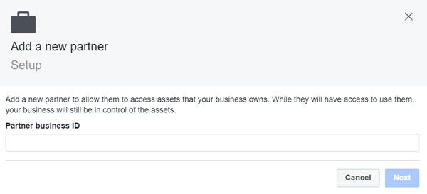 Use Facebook Business Manager, Step 8.