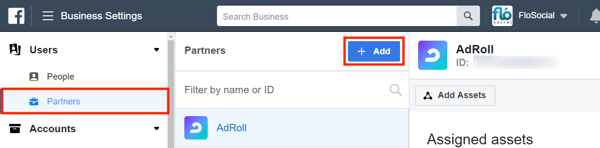 Use Facebook Business Manager, Step 7.