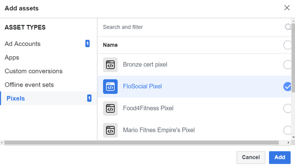 Use Facebook Business Manager, Step 20.