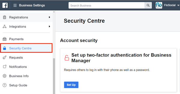 Use Facebook Business Manager, Step 1.