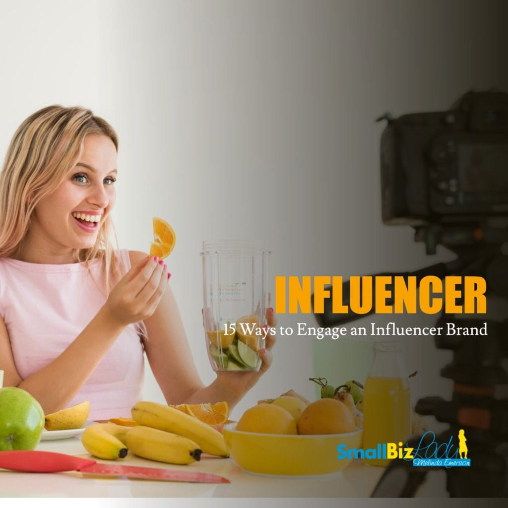 15 Ways to Engage an Influencer Brand social image