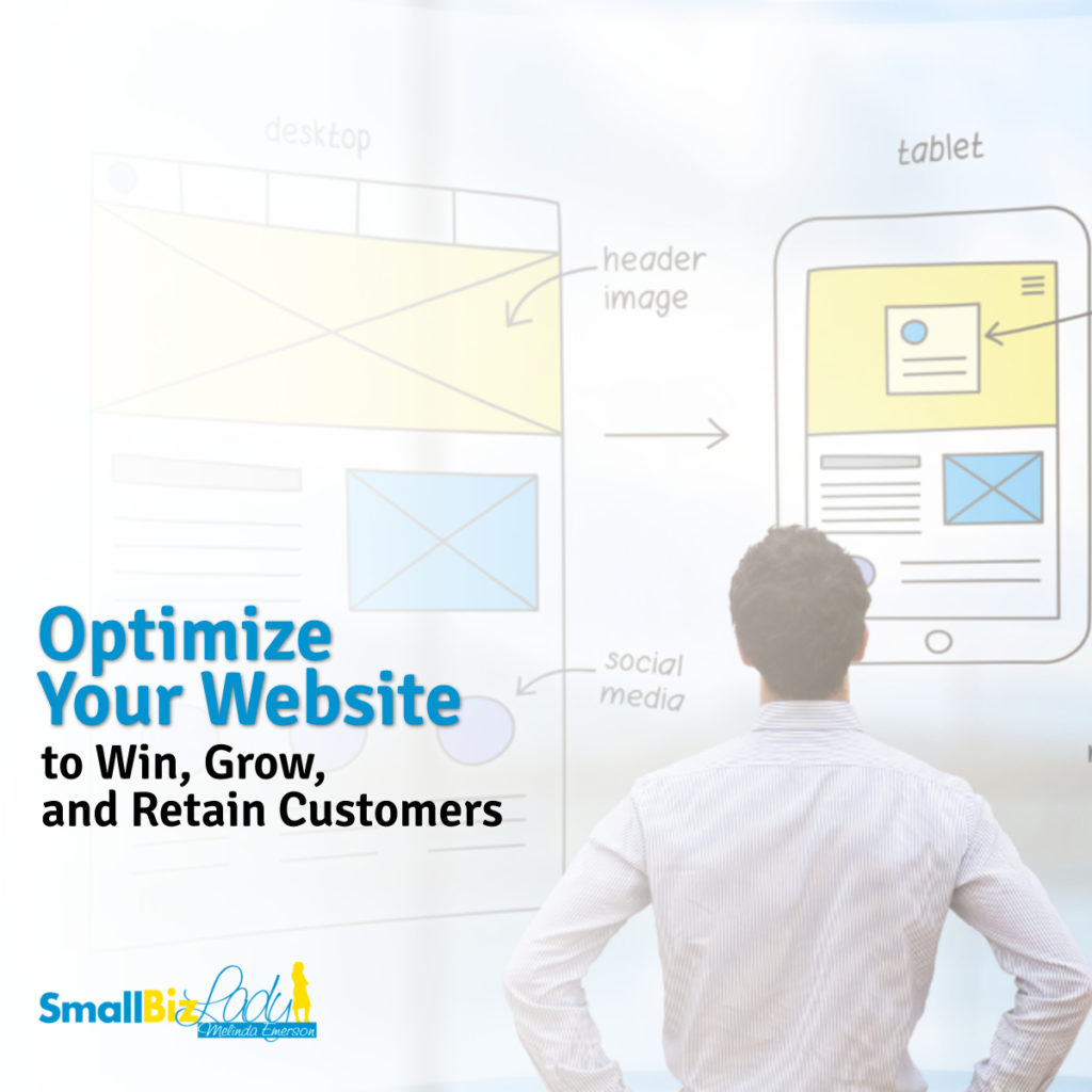 Optimize Your Website to Win, Grow, and Retain Customers Social image final