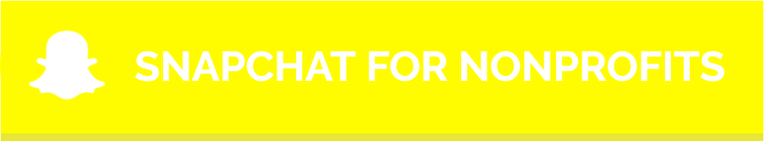 Snapchat Marketing For Nonprofits - Social Media Marketing For Nonprofits