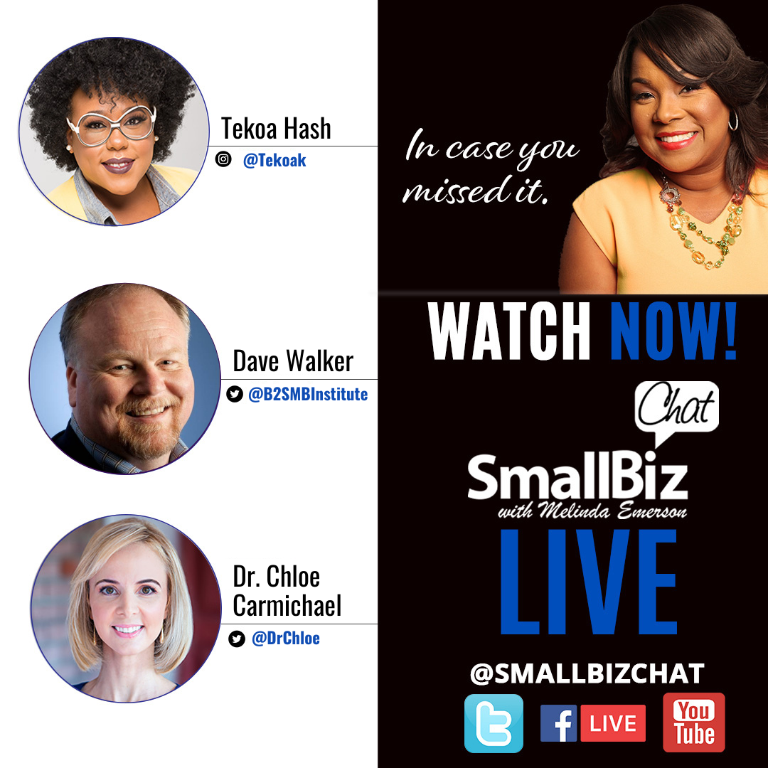 February 2021 #Smallbizchat: The State of Small Business Recovery social