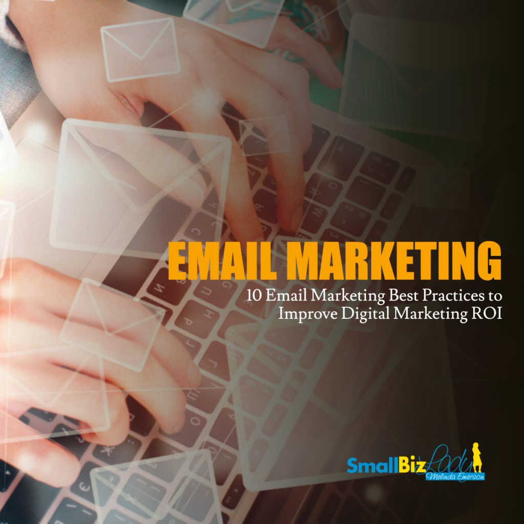 10 Email Marketing Best Practices to Improve Digital Marketing ROI social image