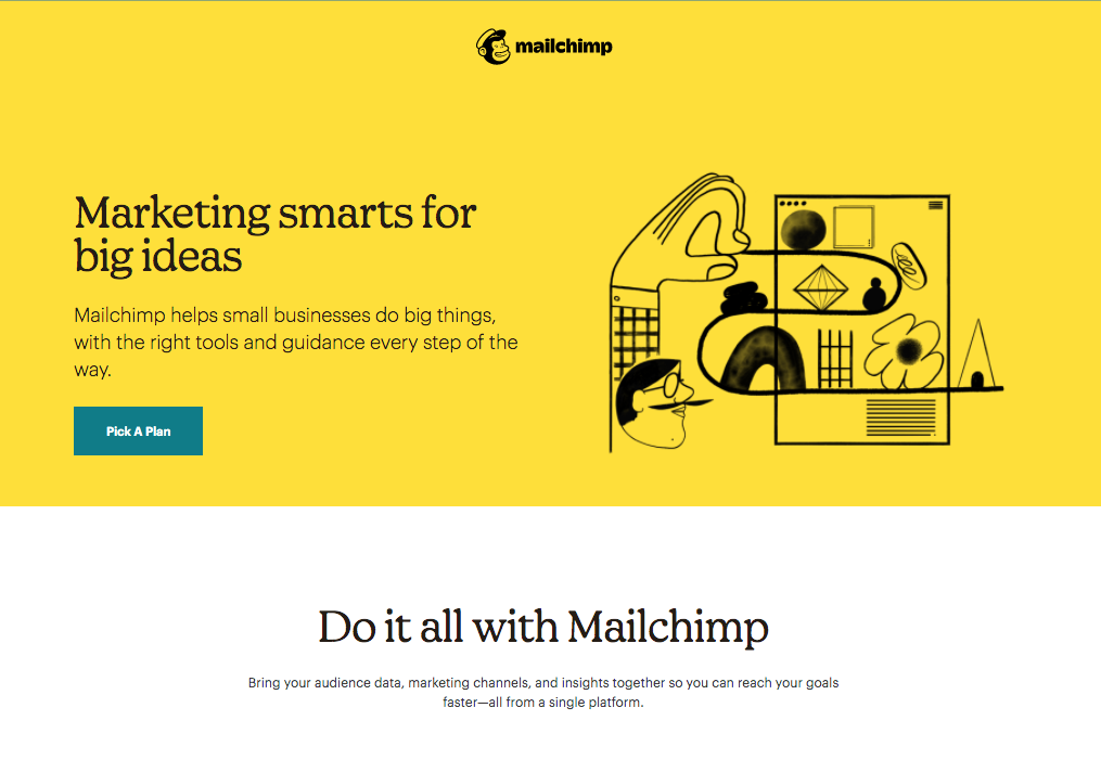 mailchimp email marketing image