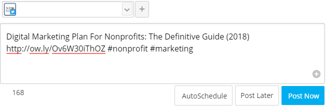 Hootlet by HootSuite - Social Media Marketing For Nonprofits