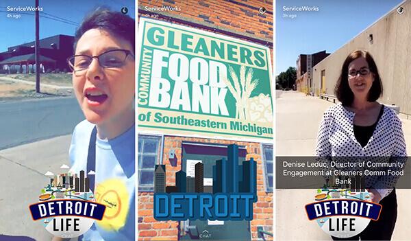 Service Works Snapchat - Social Media Marketing For Nonprofits
