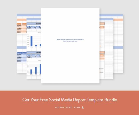 Social Media Report Template - Social Media Marketing For Nonprofits