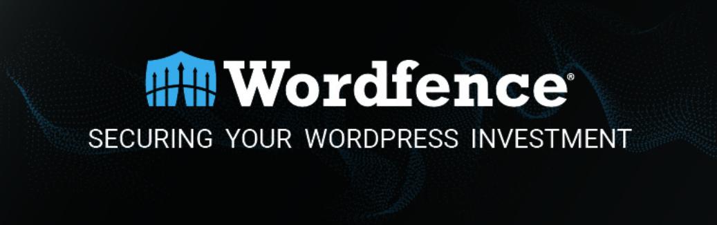 The Wordfence WordPress security plugin.
