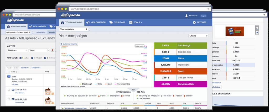 Adespresso - social media marketing for nonprofits