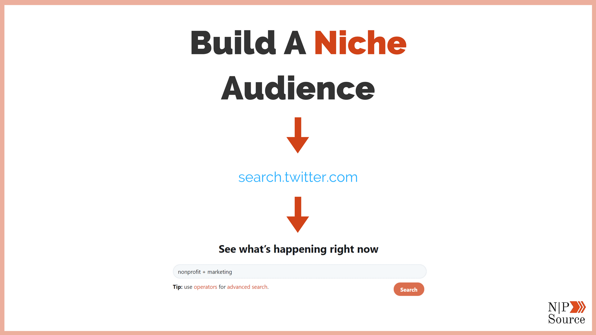 How To Build A Niche Audience - Nonprofits Source