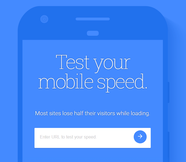 SEO for nonprofits - mobile page speed
