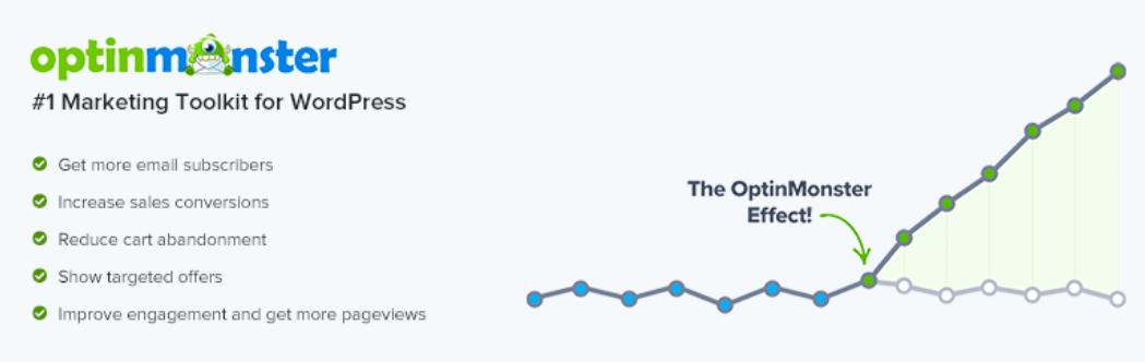 The OptinMonster WordPress popup plugin.