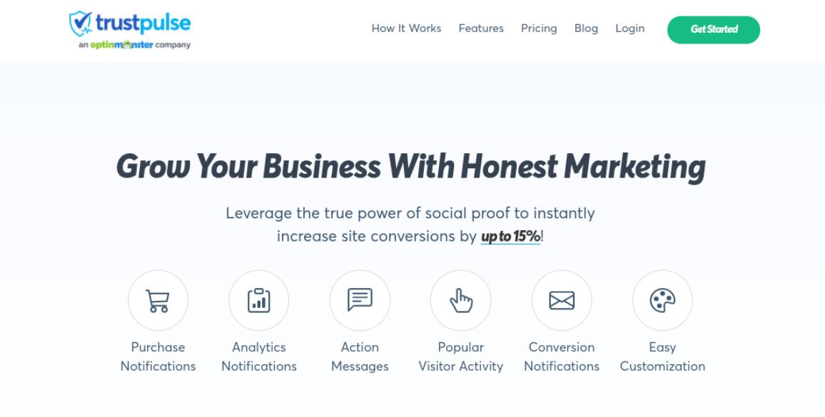 The Trust Pulse website.