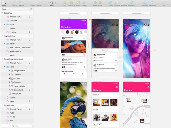 Must-Have Web Design Tools sketch image