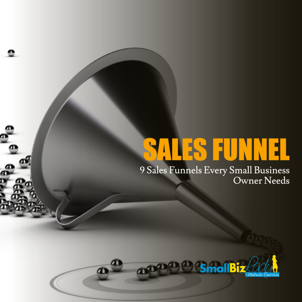 9 Sales Funnels Every Small Business Owner Needs social image